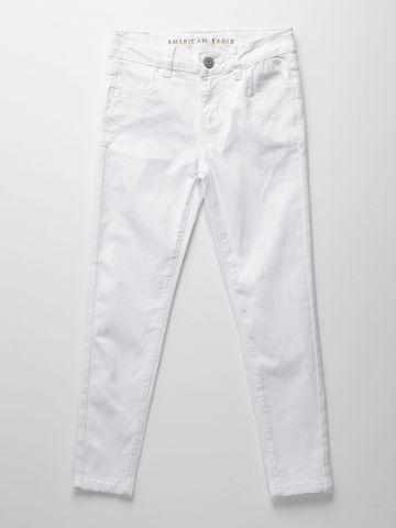 ג'ינס סקיני עם עיטור מאחור / בנות של AMERICAN EAGLE