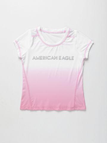 טי שירט אקטיב עם לוגו / בנות של AMERICAN EAGLE