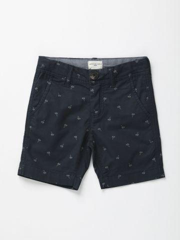 מכנסי ברמודה בהדפס עצי דקל / בנים