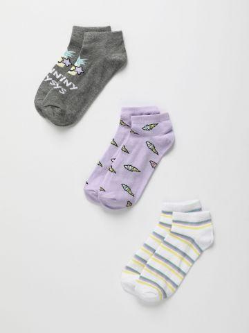 מארז 3 זוגות גרביים / בנות