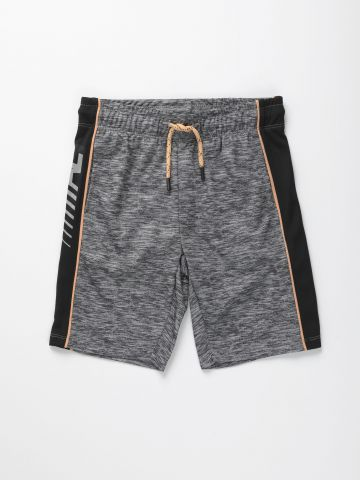 מכנסי ספורט קצרים עם סטריפים / בנים