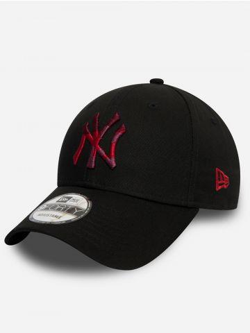 כובע מצחייה עם רקמת לוגו קומפלאז' / גברים