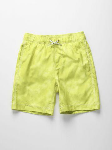 מכנסי בגד ים ווש עם כיסים / בנים