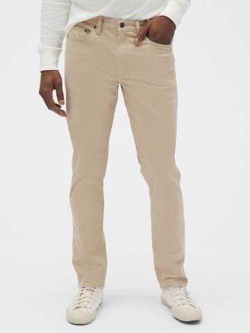 מכנסי Slim-Fit ארוכים