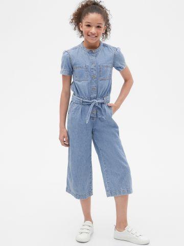 אוברול ג'ינס ארוך / בנות