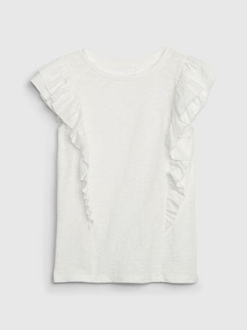 חולצה עם עיטורי מלמלה / בנות