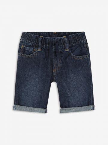 ג'ינס קצר עם שפשופים/ בייבי בנים
