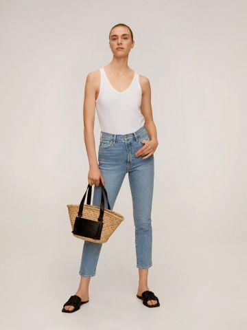 ג'ינס סקיני קרופ של MANGO