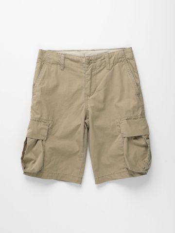מכנסי ברמודה עם כיסים / בנים