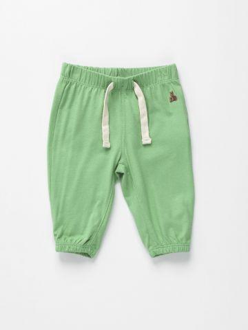 מכנסיים ארוכים עם גומי מותן / 0-24M