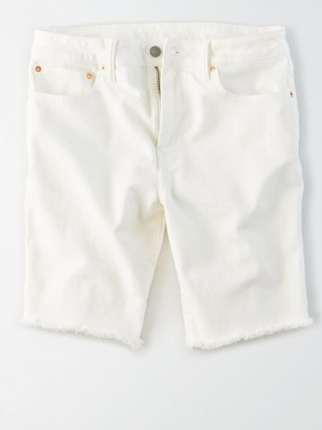 ג'ינס ברמודה עם פרנזים / גברים