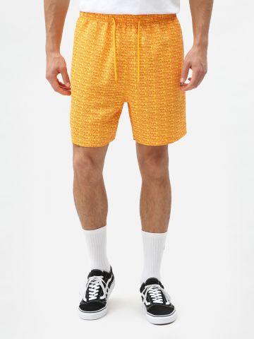 מכנסי בגד ים בהדפס לוגו של DICKIES