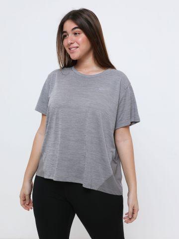 חולצת ריצה עם שרוולים קצרים Plus Size / Miler Dri-FIT