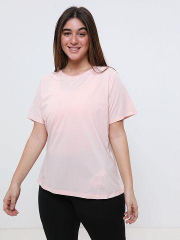 חולצת אימון בשילוב רשת Plus Size / Pro