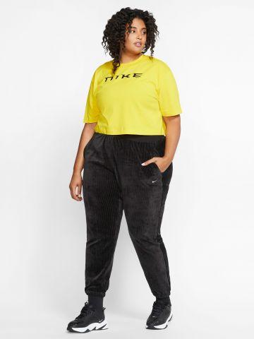 מכנסי טרנינג ריב קטיפה / Plus Size