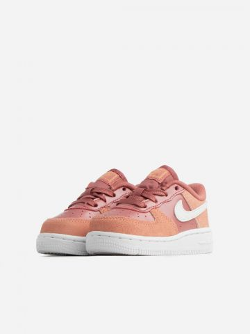 סניקרס עור Air Force 1 '07 LV8 Valentine's Day / בייבי בנות