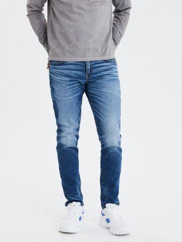 ג'ינס סלים עם הלבנה Slim