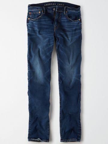 ג'ינס סלים בשטיפה כהה Slim / גברים