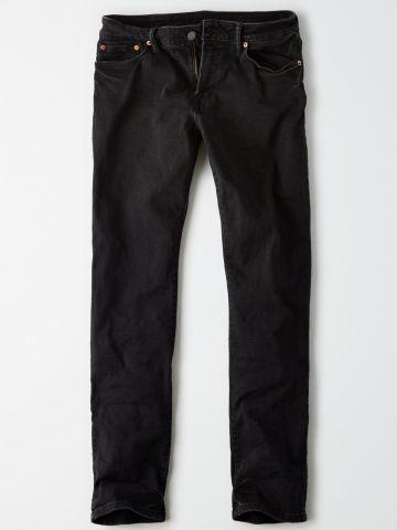 ג'ינס סלים בגזרה ישרה Slim / גברים
