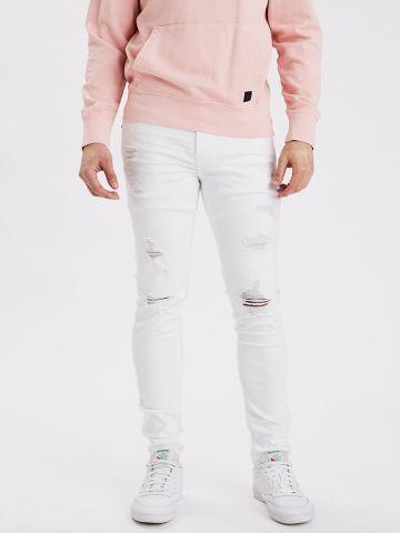 ג'ינס סקיני עם קרעים / גברים