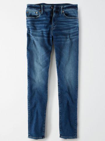 ג'ינס סקיני עם הלבנה Skinny / גברים