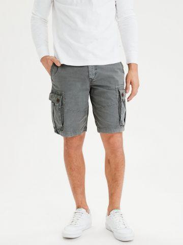 מכנסי ברמודה עם כיסים