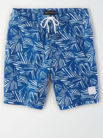 מכנסי בגד ים בהדפס אבסטרקטי / גברים של AMERICAN EAGLE