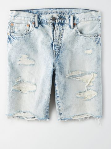 ג'ינס קצר עם קרעים / גברים
