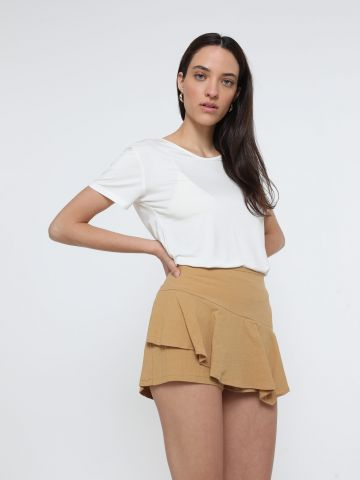 מכנסי חצאית קצרים