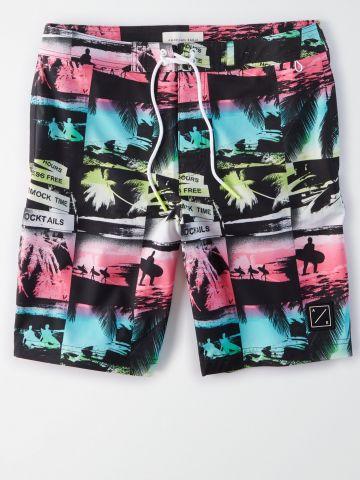 מכנסי בגד ים תמונות חוף / גברים של AMERICAN EAGLE
