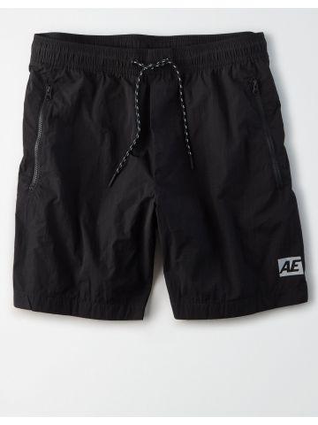מכנסי ניילון קצרים עם כיסים / גברים של AMERICAN EAGLE