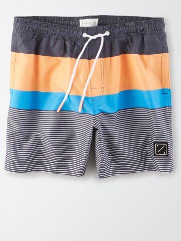 מכנסי בגד ים בסגנון ווש / גברים של AMERICAN EAGLE