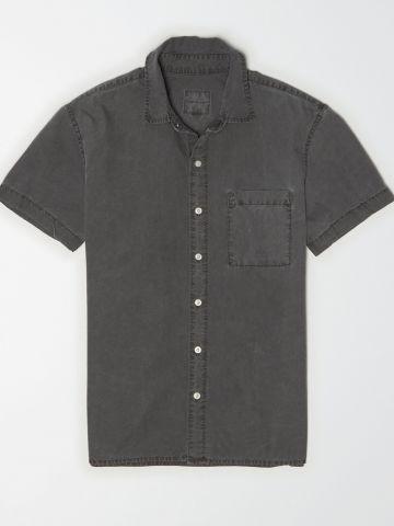חולצת Oxford ווש מכופתרת / גברים של AMERICAN EAGLE