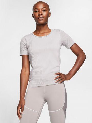 חולצת ריצה עם רשת