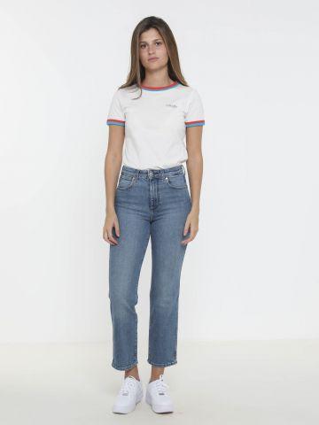 ג'ינס גבוה בגזרה ישרה Retro
