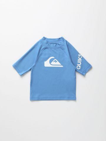חולצת גלישה עם הדפס לוגו / בנים של QUIKSILVER