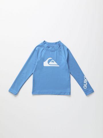 חולצת גלישה עם הדפס לוגו / בנים