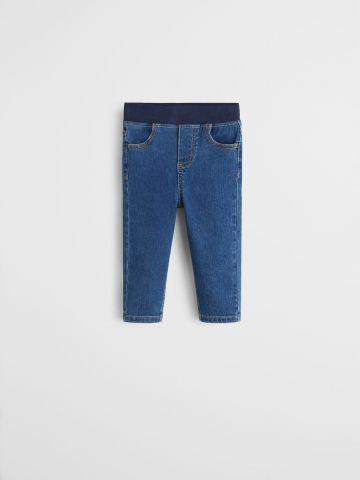 ג'ינס סטרץ' עם גומי מותן / 9M-4Y