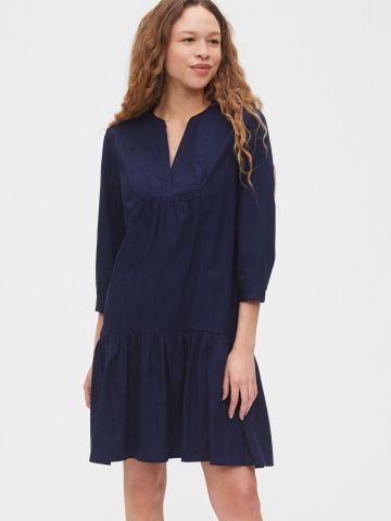 שמלת מיני פפלום עם שרוולי 3/4 של GAP