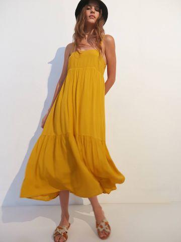 שמלת מידי קומות בטקסטורה UO