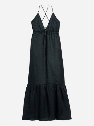 שמלת מקסי פפלום / נשים של BANANA REPUBLIC