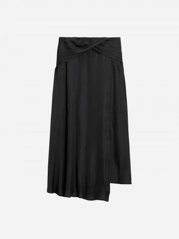 חצאית מידי סאטן / נשים