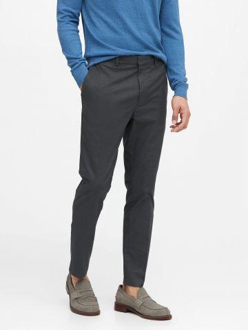 מכנסיים ארוכים מחוייטים Slim / גברים