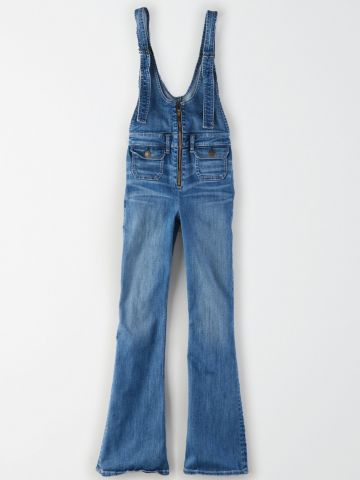 אוברול ג'ינס מתרחב / נשים