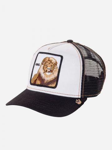 כובע מצחייה עם פאץ' אריה / בנים של GOORIN BROS