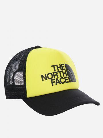 כובע מצחייה רשת עם לוגו / גברים