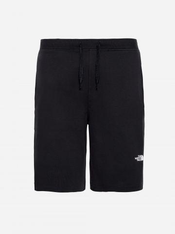 מכנסיים קצרים עם הדפס לוגו / גברים