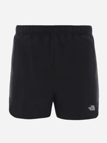 מכנסי ריצה קצרים עם לוגו / נשים