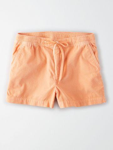 מכנסי קורדרוי קצרים / נשים