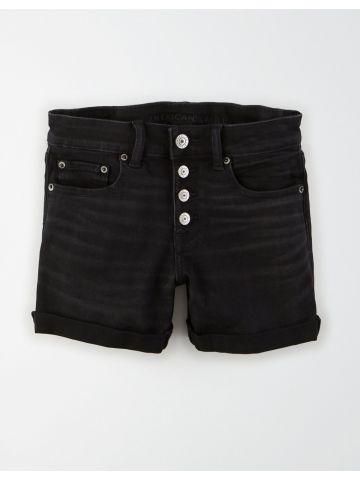 ג'ינס קצר עם כפתורים / נשים